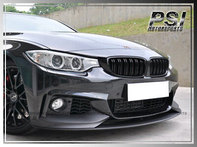 Dergtgh Car Front Kidney Grilles Gloss Black for BMW 4 Series F32 F33 F36 420i 428i 435i M4 2014-2016