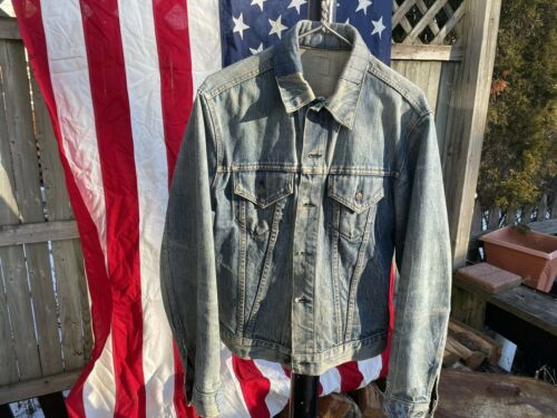 Levis Vintage Sashiko Repaired Trucker Jacket