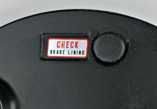 Sr500 xt500 bremsankerplatte atrás pegatinas decal /'Check Brake Lining/'