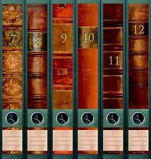 File Art 6 Design Ordner-Etiketten Folio B...................................610