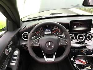 Dry Carbon Interior Trim Kit For 15 16 Benz W205 C63 Steering Wheel Inner Handle Ebay
