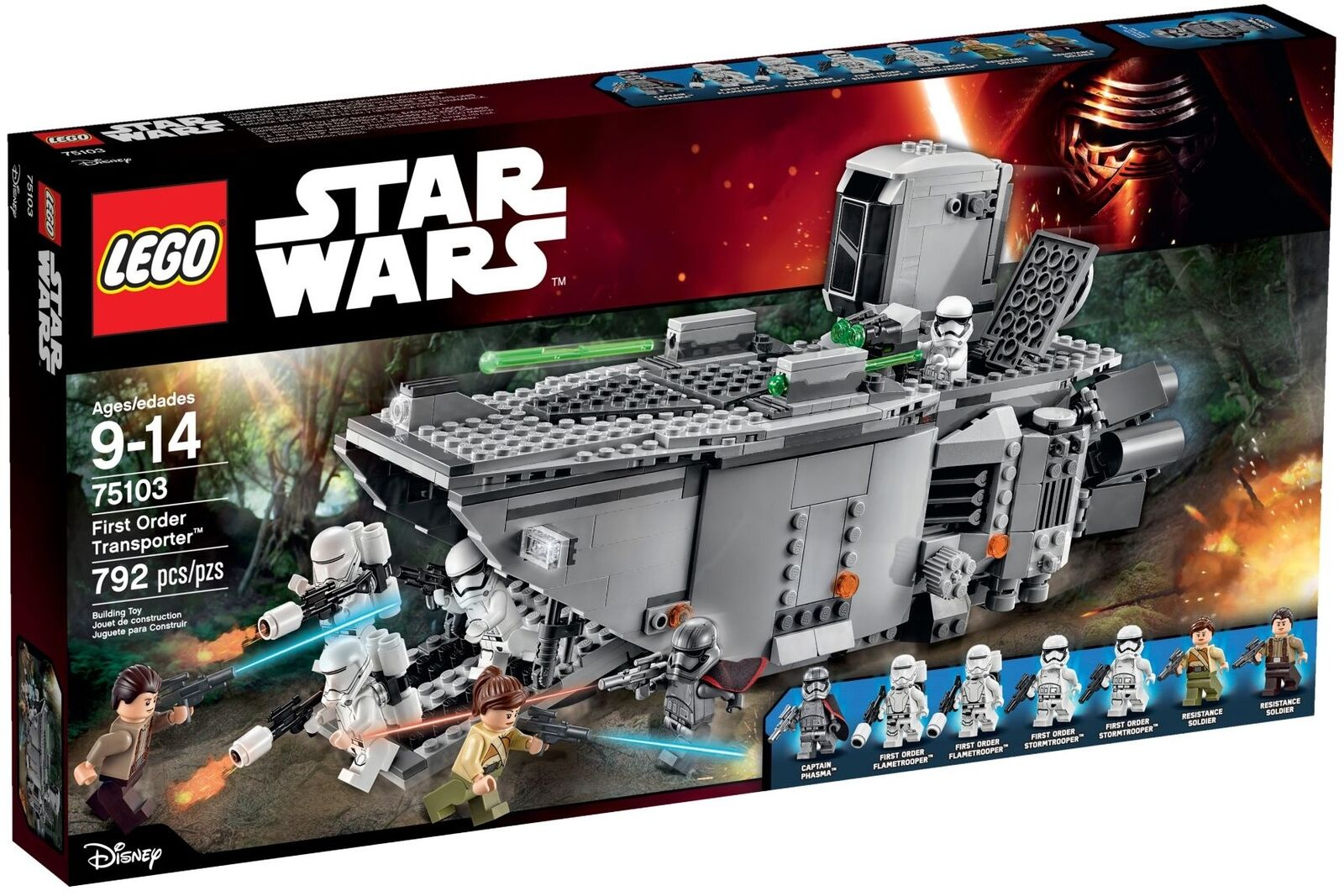 LEGO 75103 Estrella Guerras primero Order Transporter nuovo with DAMAGED scatola