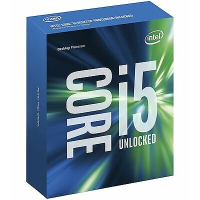 Intel Core i5 7600K Processor 6MB Cache 3.8 GHz LGA1151 Quad Core Desktop PC CPU