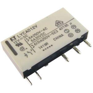 Fujitsu Print-Relais FTR-F1CL024R 24V DC 2xUM 8A 1440R Power Relay 855153