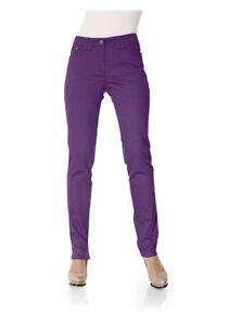 Mujer Vaqueros Pantalón Pantalones C Elásticos Chino Pitillo B CHqSxw