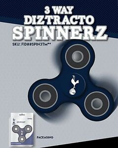 TOTTENHAM HOTSPUR OFFICIALLY LICENSED FIDGET SPINNER *SAFETY CERTIFIED TESTED*