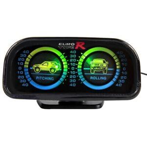 Euro Typer Car Adjustable Compass Balancer Slope Meter Tachometer X7K1