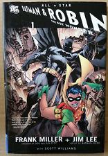 All Star Batman & Robin, the Boy Wonder  Vol. 1 HC looks unread NM?