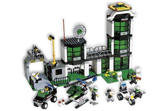 NEW Lego 6636 Police Headquarters SEALED
