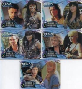 Xena-Art-amp-Images-Women-and-Warriors-Cell-Chase-Card-Set