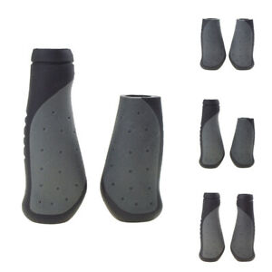 Ergonomic Bicycle Bike TPR Rubber Handlebar Grip Shift Handle Grips Long//Short