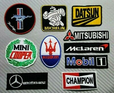 MOTUL OIL MOTOR RACING SPORTS CAR BIKE Embroidered Patch Iron Sew Logo Emblem