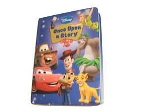 DISNEY-ONCE-UPON-A-STORY-Book-Hard-Cover-Board-7-Stories-Pixar-amp-Classics
