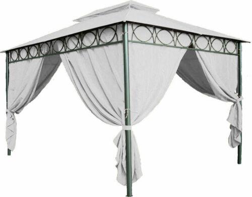 wasserdicht Ersatzdach für Pavillon 4x3 beige Pavillondach Dach 3x4 PVC