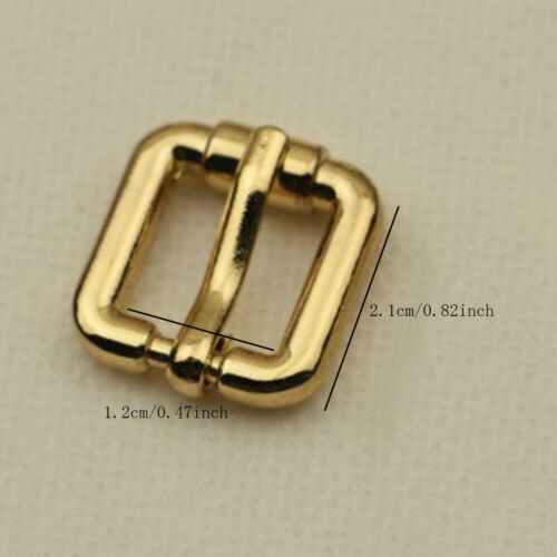 Belt Buckle End Bar Buckle Pin Buckle For Leather Craft Bag Strap Jeans Webbing