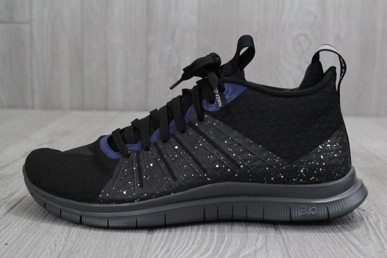 25 New Uomo Nike FC Hypervenom 2 mid 747140 005 nero shoes Size 10  12.5