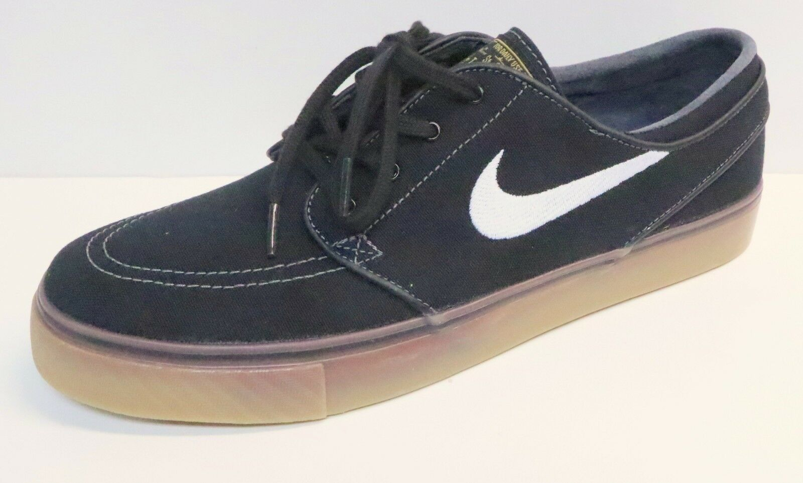 NIKE SB ZOOM STEFAN JANOSKI CANVAS SNEAKERS 615957 017 BLACK / WHITE NEW CHOICE