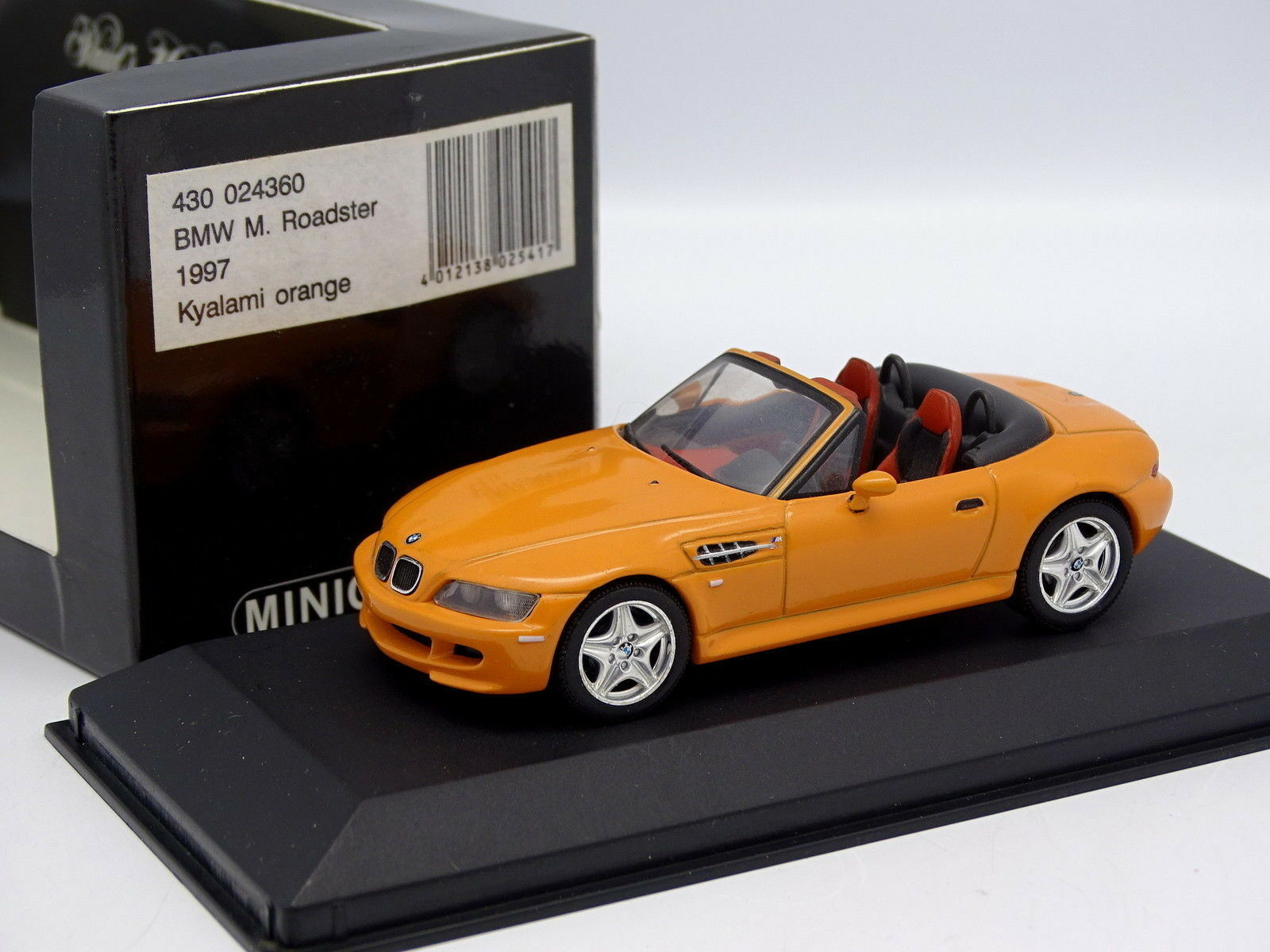 Minichamps 1  43 - BMW M Roadster Kyalami orange (pik nic)