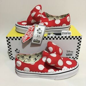 68c5c9d02ca Vans Disney Authentic Gore Minnie s Bow KIDS SIZE 3 Shoes SOLD OUT w ...