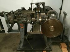 Nilson Model 0 F Wire Forming Four Slide Machine 116 Wire 5t