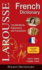 Larousse Pocket French-English/English-French Dictionary by Larousse Editors...