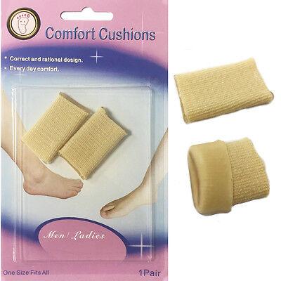 Almohadillas De Gel Suave Dedo Pie Almohadilla de confort Zapato Bocado Tacón Footcare superpuestas uñas del dedo del