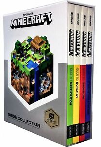 Minecraft-Guide-Collection-4-Books-Collection-Box-Set