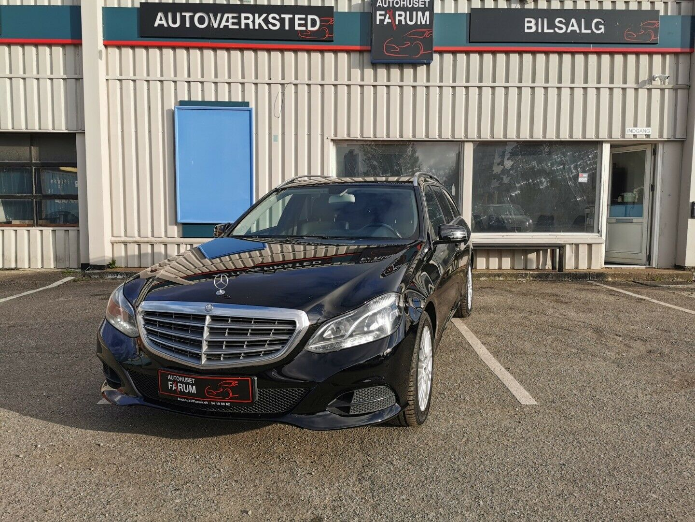 Mercedes E200 2,2 CDi stc. aut. BE 5d - 154.900 kr.
