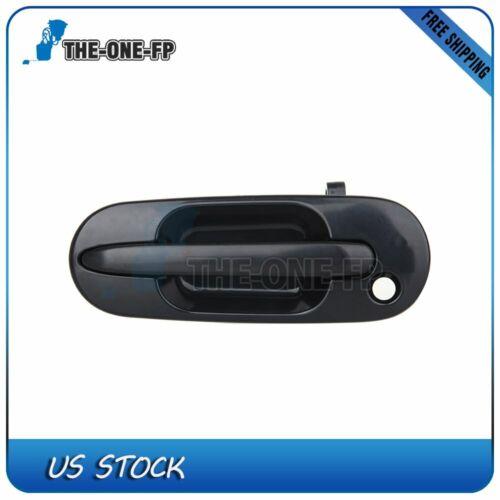 1Pc Door Handle for 97-01 Honda CR-V Black Exterior Front Left Side