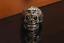 Anello-Massiccio-Fascia-Uomo-Donna-Unisex-Acciaio-Inox-Steel-Teschio-Skull-Punk miniatura 5