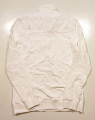 1 Zip Femme 4 Vignobles Eyelet Shoulder Shep Vigne Cap Vines Shirt s White L pYFxUSwTq