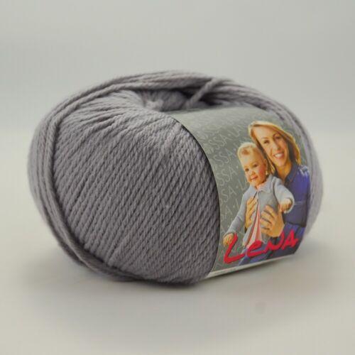 Lana Grossa Lena 50g lana-colores diferentes