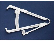 NEW Budget Skinfold Caliper - Cheap skin body fat caliper - Plastic Accu measure