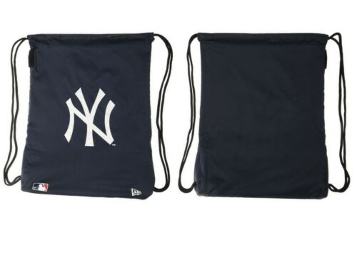 New Era NY Yankees Unisex Navy//White Gym Sack Sport Bag *NEW