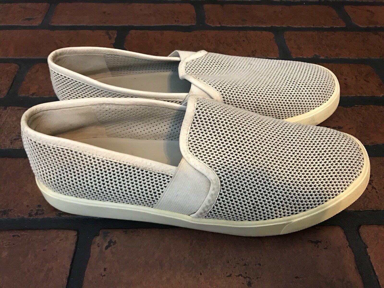 Vince Summer Slip On White Leather Summer Vince Lightweight Shoes 7 2edccc