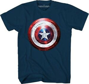 Captain-America-Movie-Covered-Light-Marvel-Comics-Licensed-Adult-T-Shirt