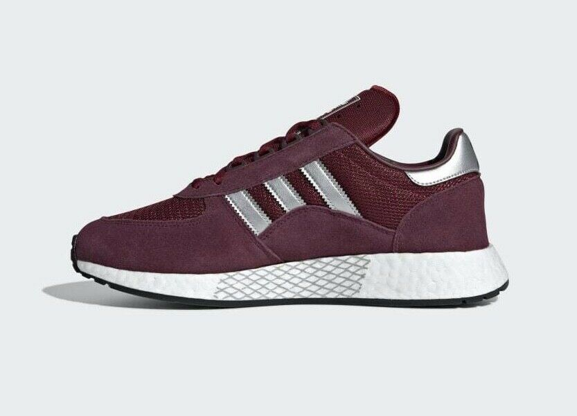 Auténticos Adidas Originals marathonx 5923 ® (MEN Talla UK  8 - 11) Color Borgoña