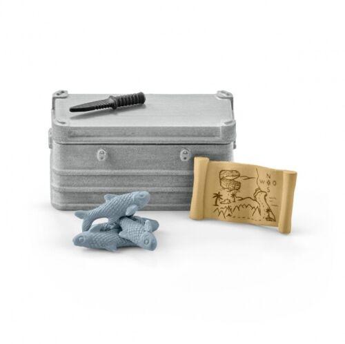 SCHLEICH Wild Life-boot attrezzature 42357
