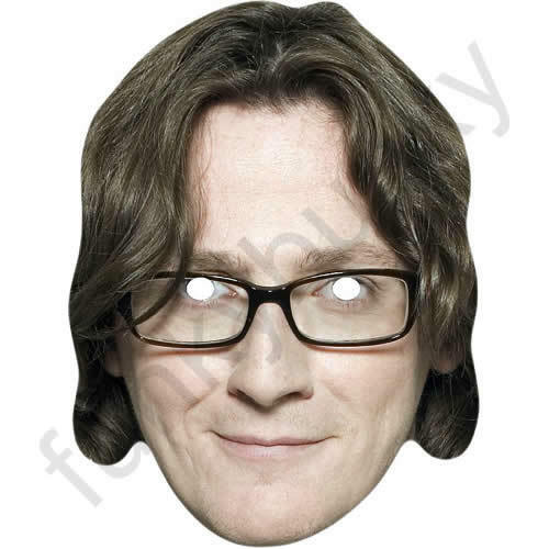 Ed Byrne Irish Comedian Card Face Mask All Our Masks Are Pre-Cut!