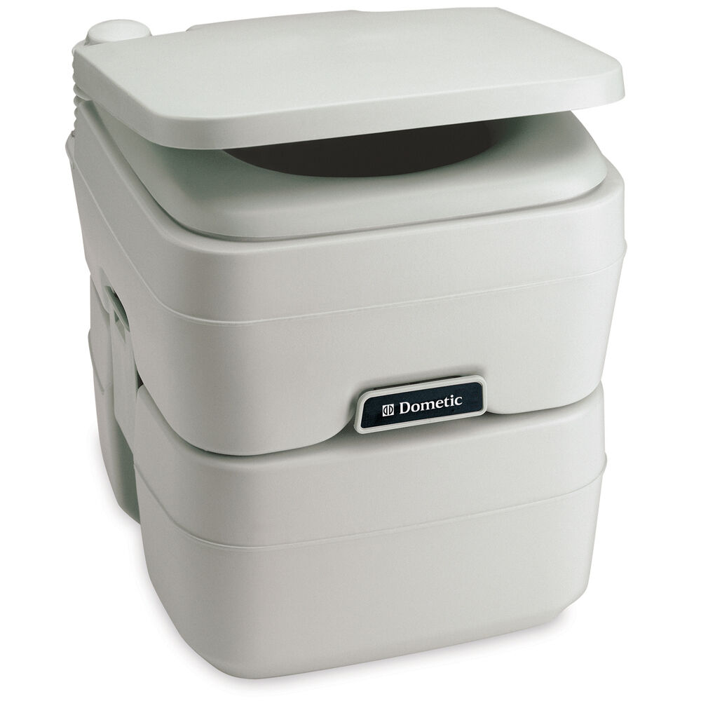 Dometic - 965 MSD Portable Toilet 5.0 Gallon Platinum model 311196506