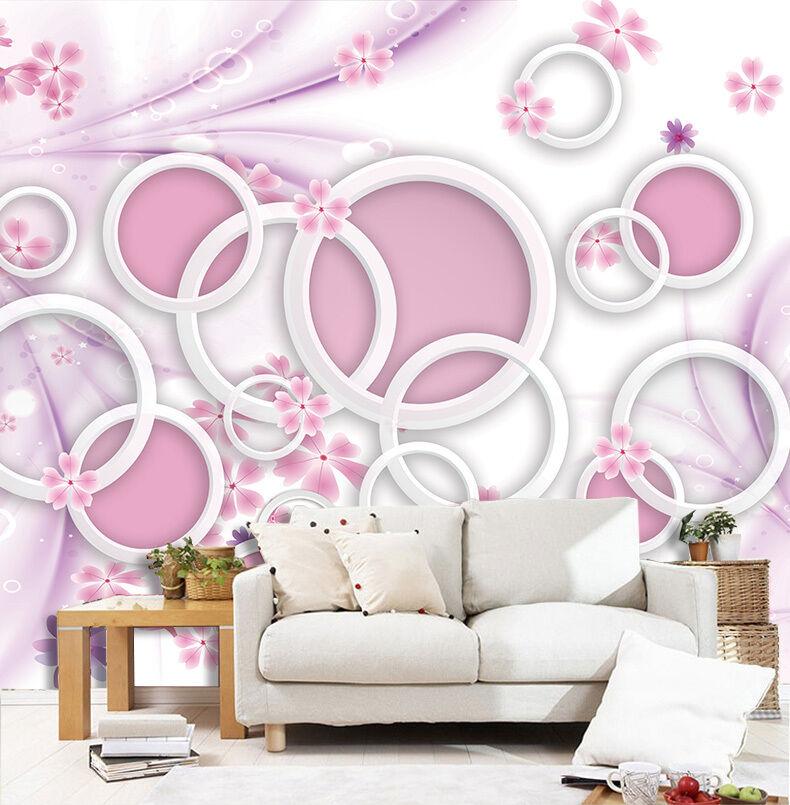 3D Schöne Kreis 233 Fototapeten Wandbild Fototapete BildTapete Familie