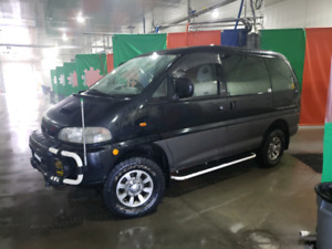 1996 Delica L400 DIESEL 4M40, 4x4 Camperized, Insulated