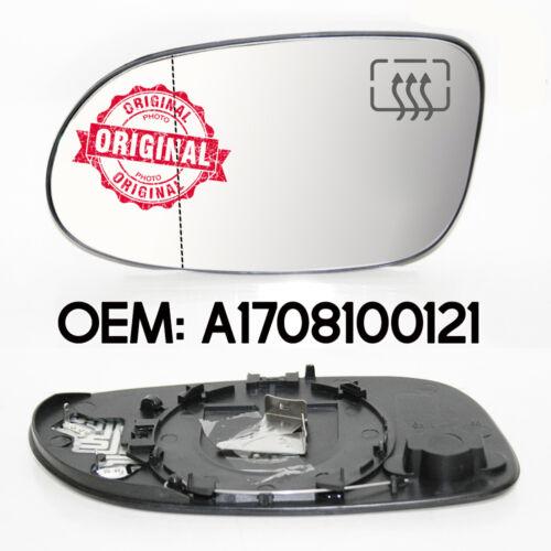 Neu Linke Seite Weitwinkel-Beheiztes Spiegelglas für Mercedes A-Klasse W168 98