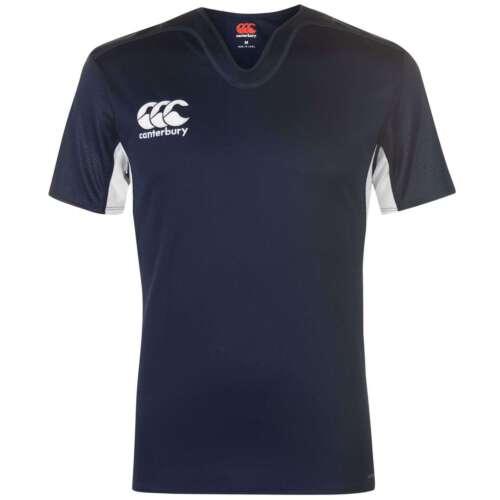 Canterbury Challenge Herren Shirt Rugby Kurzarm T Shirt Top Training Sportshirt