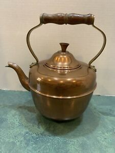 O-D-T-Made-In-Portugal-Vintage-Copper-Tea-Kettle