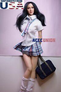 Échelle de 1/6 Phicen Superduck Figure sans couture féminine mis Pale M Buste Usa