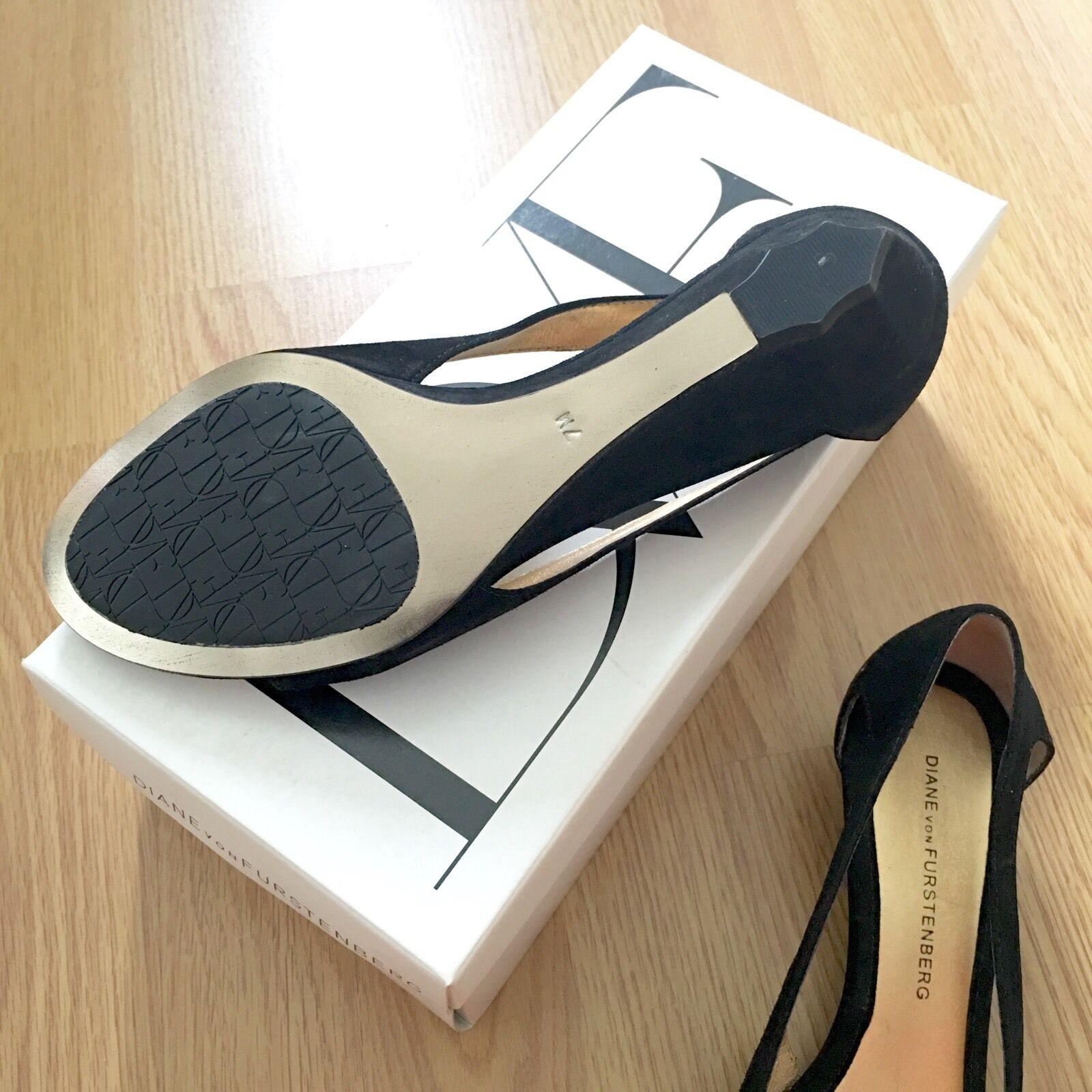 Diane Von Von Von Furstenburg DVF Chaussures UK4 2fea00