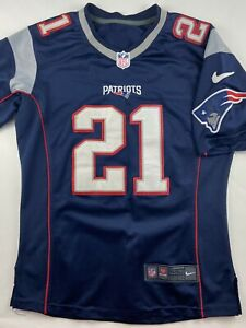 NIKE New England Patriots Malcolm Butler #21 NFL Football Jersey ...