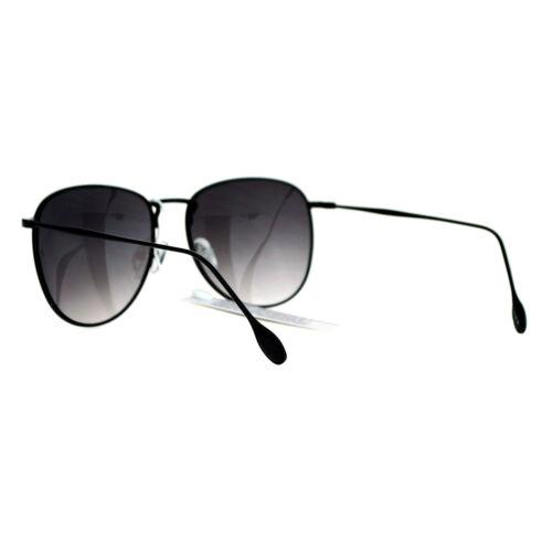 Vintage Designer Fashion Sunglasses Unisex Thin Metal Round Frame