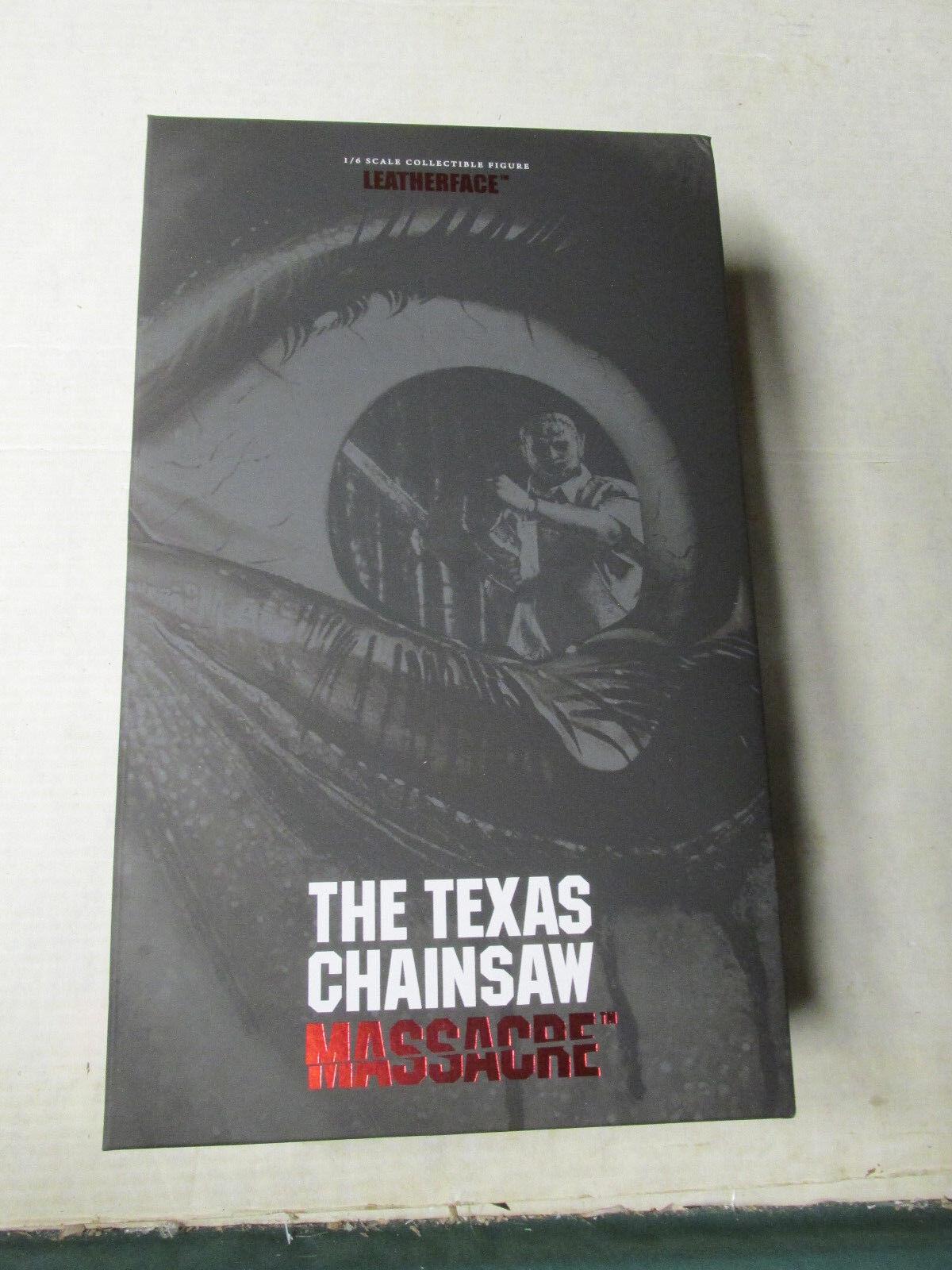 Texas Chainsaw Massacre Leatherface 1 6 MIB